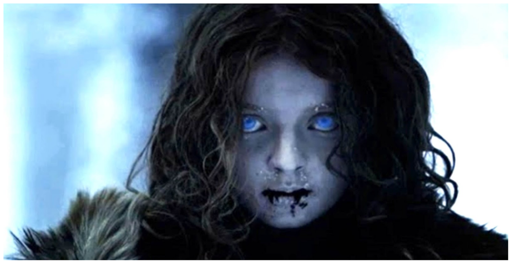 White Walkers - Game of thrones blue eyes