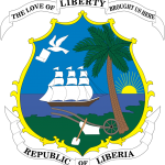 "Armoiries du Liberia : ""The love of liberty brought us here"""