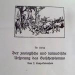 "Ostara : ""Les origines zoologiques et talmudiques du Bolchévisme"""