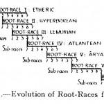"""schéma des relations entre les """"root-races"""" et leur """"sub-races"""""""