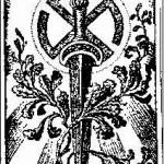 Logo de la Thule-Gesellschaft, avec une svastika courbée, souvent appelé Svastika de Thulé désormais.