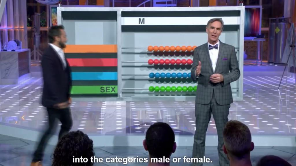 Nye male and female